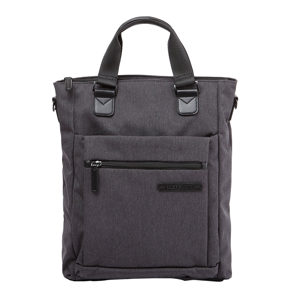 [Lucky Planet] Alpha Two Way Carry Handles Shoulder Bag -Balck