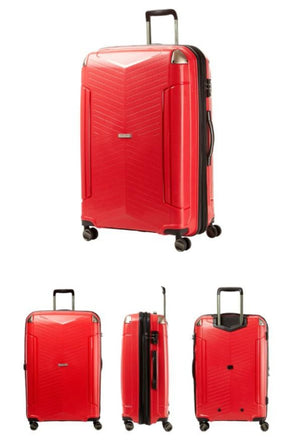 [Lucky Planet]  Frieden Red 24-inch Hard Case Luggage - Luckyplanetusa