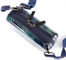 Personalized Daily cross bag / Travel body bag / field trip/ honeymoon-Hard cover/Cross strap/ Handle strap- Decal Hologram name