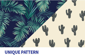 [RESTOCK][Lucky Planet] Cactus Pattern Print Hard Case Luggage Set - 21+26+30 inch Full set