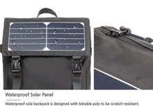 [Lucky Planet] Beta Solar Powered USB charging Backpack - Luckyplanetusa