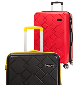 [Lucky Planet]  Canto Square 21-inch Hard Case Luggage - Luckyplanetusa