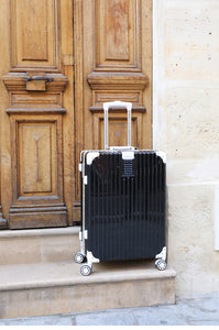 [Lucky Planet]  Edge 21-inch Luggage - French Gray - Luckyplanetusa