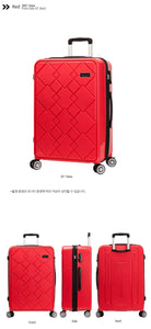 [Lucky Planet]  Canto Square 25-inch Hard Case Luggage - Luckyplanetusa