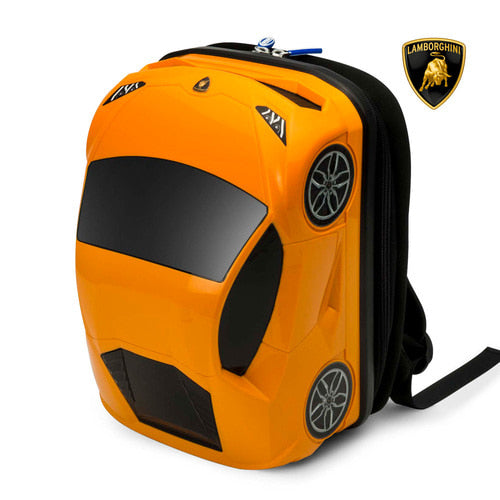 [Special DEAL][Lucky Planet] Lamborghini Kids Backpack - Orange
