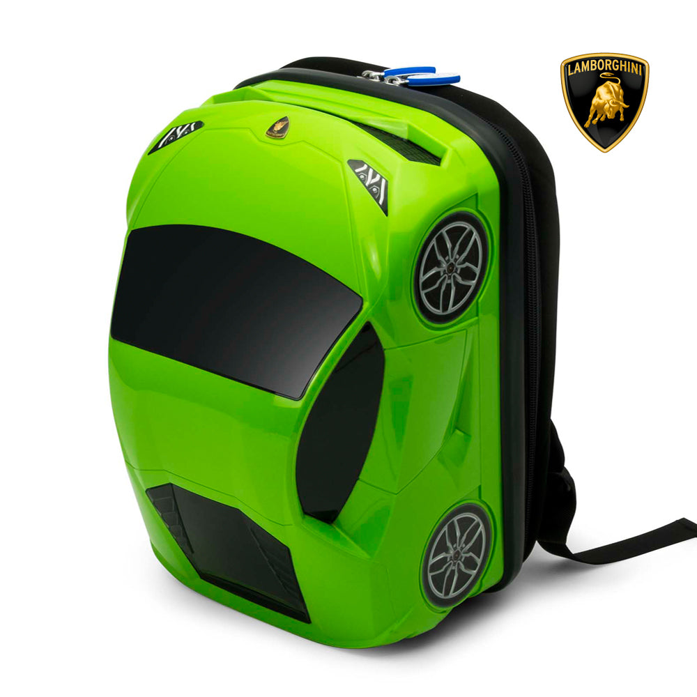 Special Deal Lucky Planet Lamborghini Kids Backpack Green