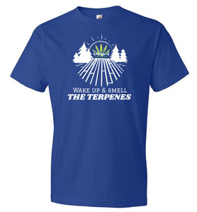 Wake Up & Smell the Terpenes Unisex Tee