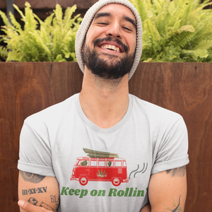 Keep on Rollin' Unisex Cannabis Tee