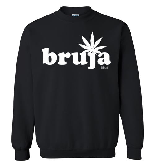 Cannabis Bruja Unisex Crew Sweatshirt - Multiple Colors