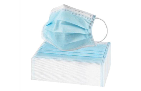 3 Ply Disposable Surgical Masks (50 Per Box)