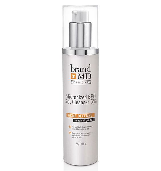 Micronized BPO Gel Cleanser 5%