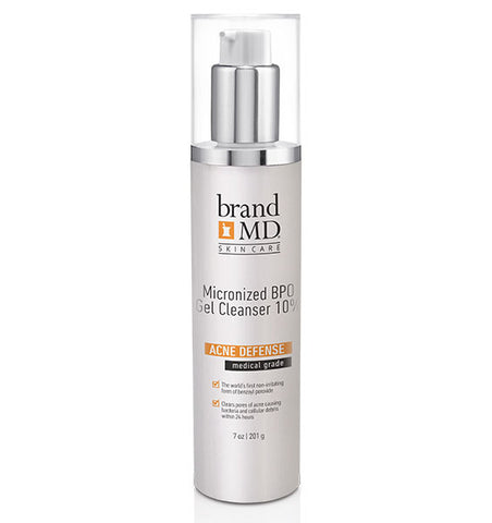Micronized BPO Gel Cleanser  10%