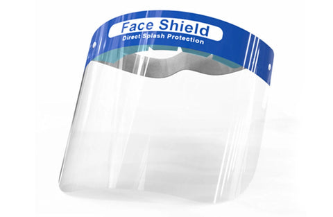 Full Face Protection Shields (10 Per Pack)