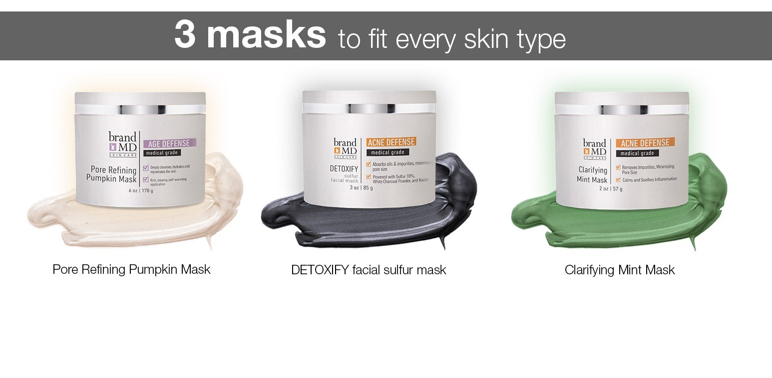 DETOXIFY sulfur facial mask