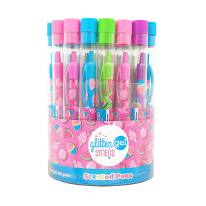 Glitter Gel Grip Smens (Bucket)
