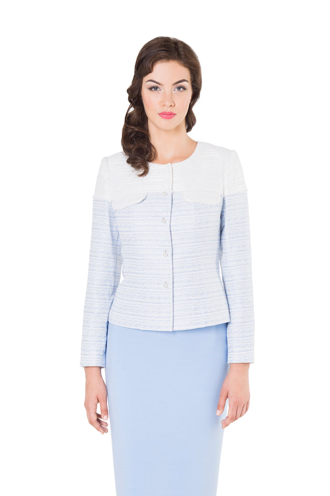 JULIA LIGHT BLUE JACKET