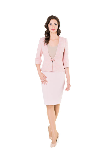 FUCHSIA PINK PENCIL SKIRT