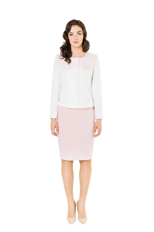 JULIA LIGHT PINK JACKET