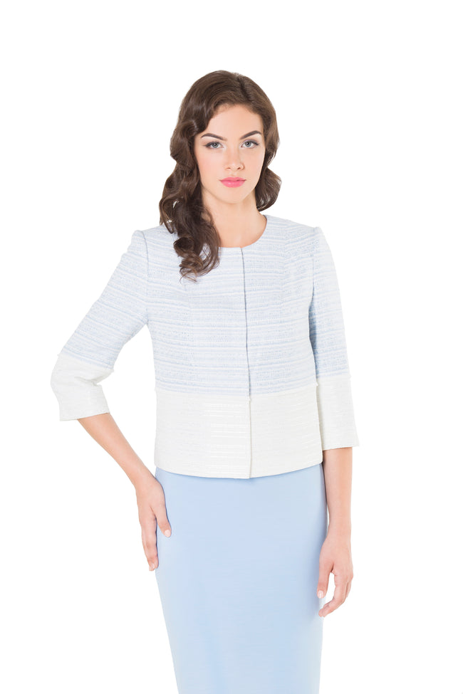 AMELIA LIGHT BLUE JACKET