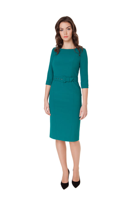 MICHELLE WOOL DRESS