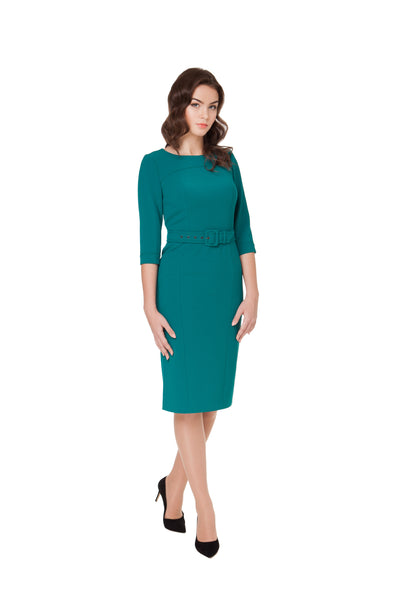CATHERINE BELTED DRESS