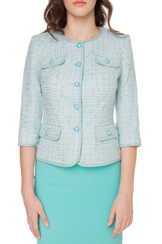 MIRANDA MINT CHANEL JACKET