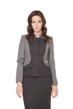 CHARLENE TWO TONE NEHRU JACKET