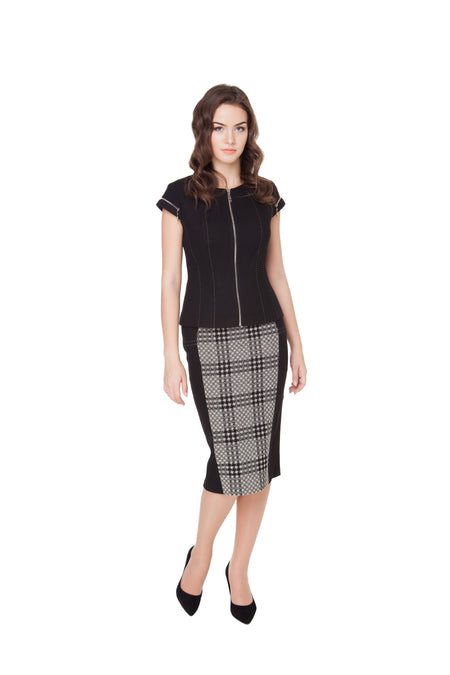 ELEANOR WOOL SKIRT