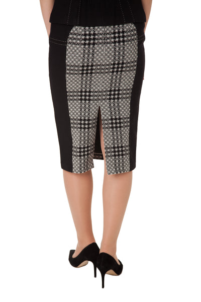 DANIELLE CHECKED SKIRT