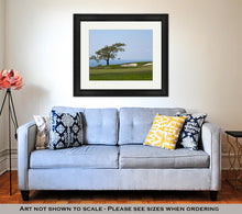 Load image into Gallery viewer, Framed Print, View From Torrey Pines Golf Course