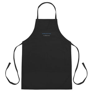 """Building Golf Clubs"" Embroidered Apron"
