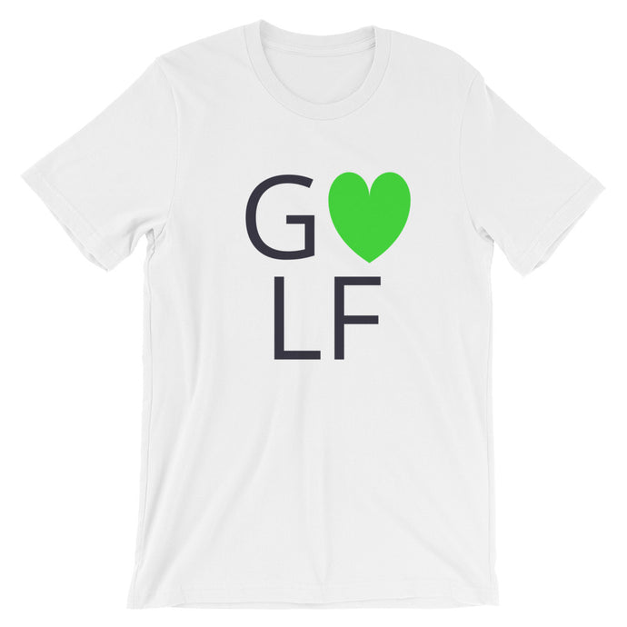 Love Golf T-Shirt, white