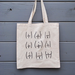 Butts Cotton Tote