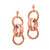 Ovale Doubles Chain Earrings
