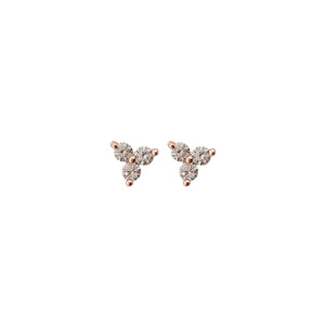 Triple Point Dots Earrings
