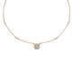 Kory Mini Round Illusion Necklace