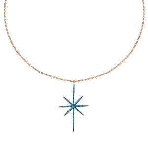 Long Bright Star Necklace