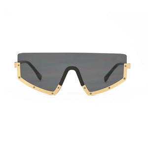 Ultra Glow Black Gold Sunglasses