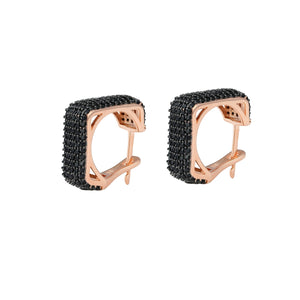 Square Plate Snappy Earrings