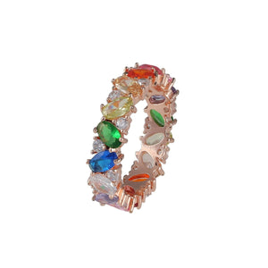 Aquafire Rainbow Ring