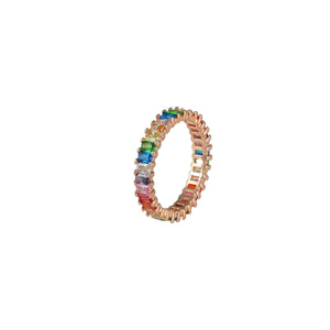 Thin Dandy Rainbow Ring