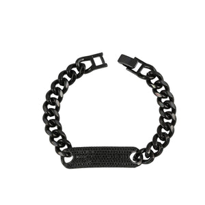 Rectangle Cut Chain Bracelet