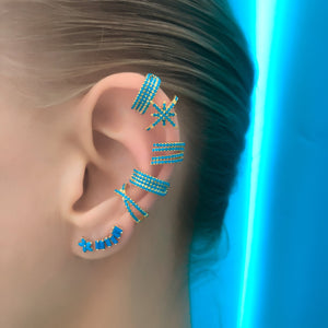 Compact Lines Ear Cuff
