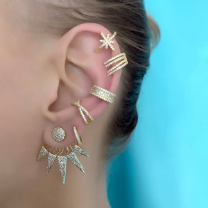 Star On Strike Ear Cuff