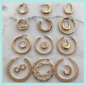 Shayla Hoops Earrings