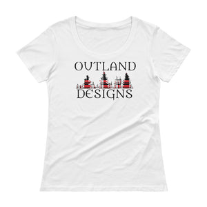 Outland designs ladies scoopneck tee