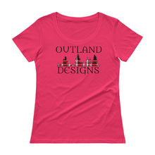Load image into Gallery viewer, Outland designs ladies scoopneck tee