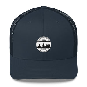 Outland Designs White Logo Trucker Cap