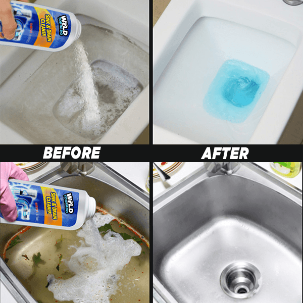 Powerful Sink Drain Cleaner