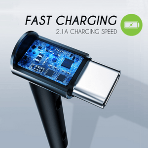60° Stand-up Fast Charging Cable